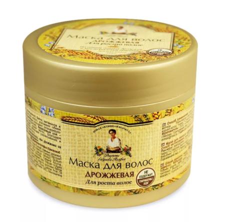 Дрожжевая маска для роста волос «Рецепты бабушки Агафьи»