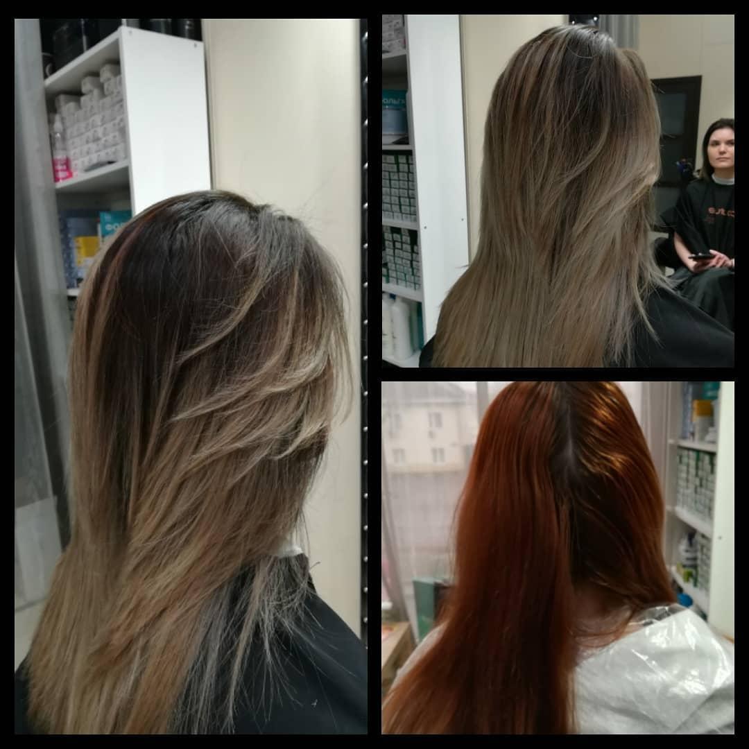 Препарат для волос: За преображением приходите только к нам!  Сложные окрашивания в исполнении стилистов ...