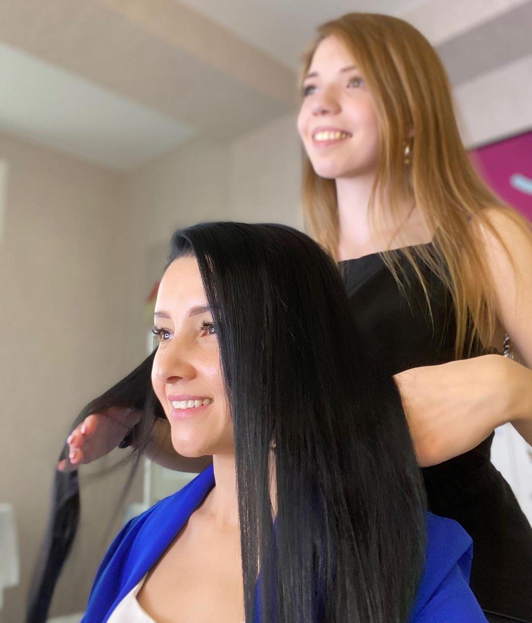Ломкость волос: ВОЛОСЫ ⠀ Во вчерашних Сториз вы видели какое чудо сотворила  с моими волосами! (В кар...