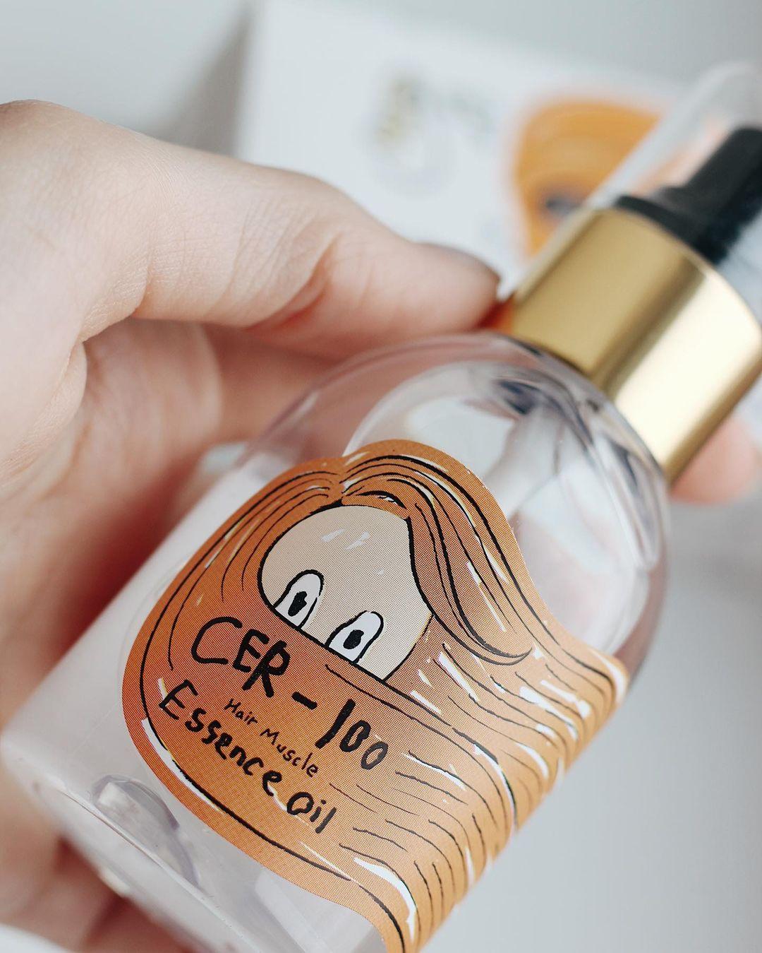 Стимуляция роста волос: Масло для волос Elizavecca Cer-100 Hair Muscle Essence oil ⠀ Флакончик выглядит мило,...